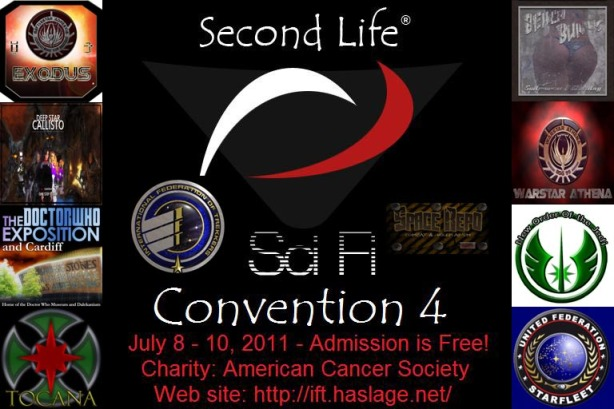 Second Life Science Fiction Convention 4